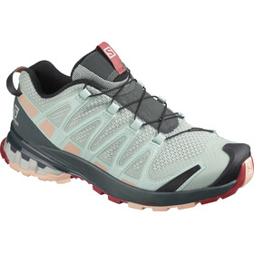 Salomon XA Pro 3D v8 Schuhe Damen aqua gray/urban chic/tropical peach